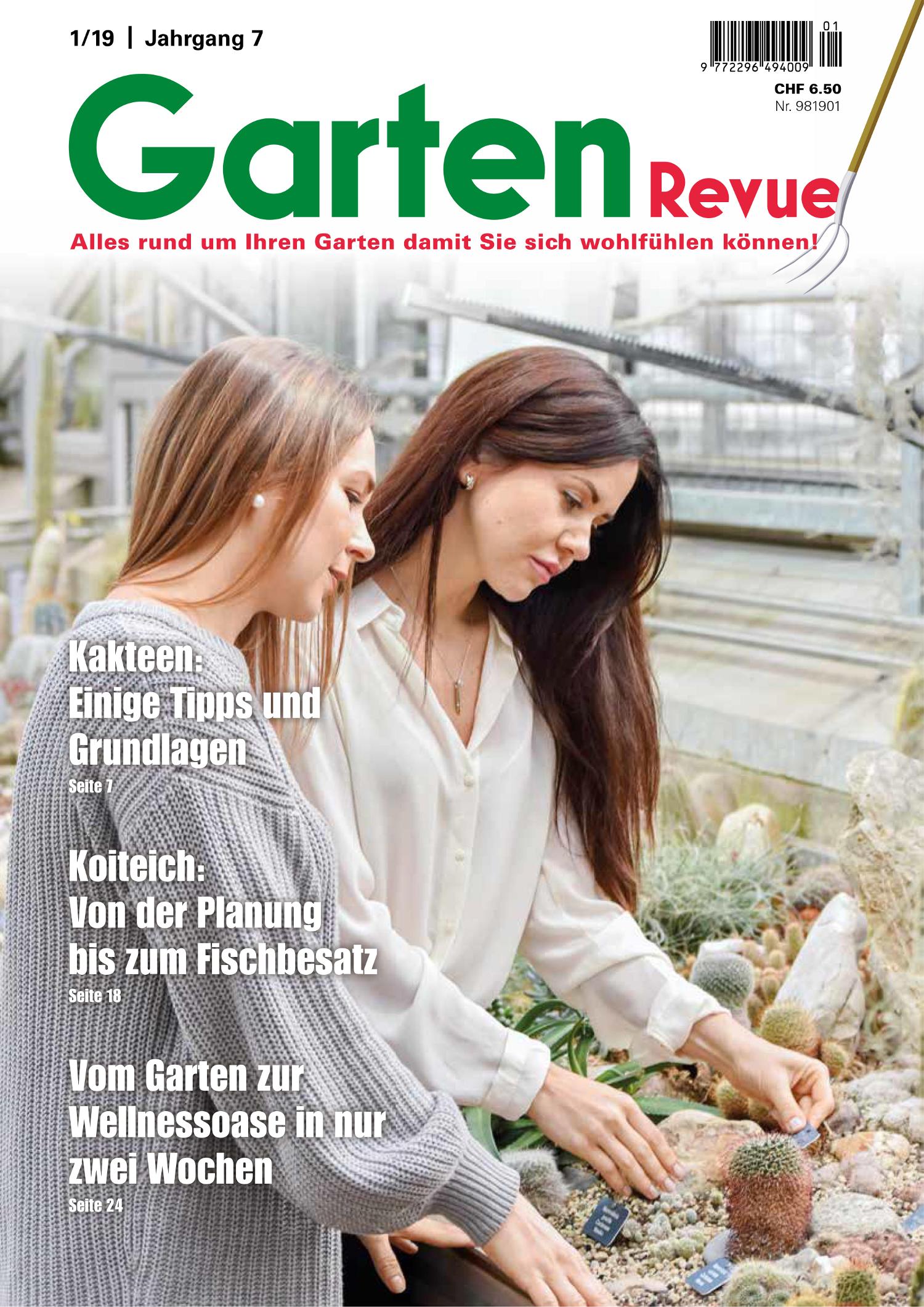 GartenRevue 1-19