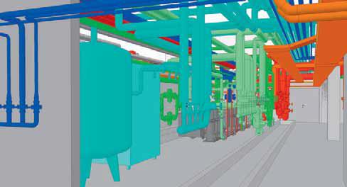 3D-Planung einer Spitalzentrale
