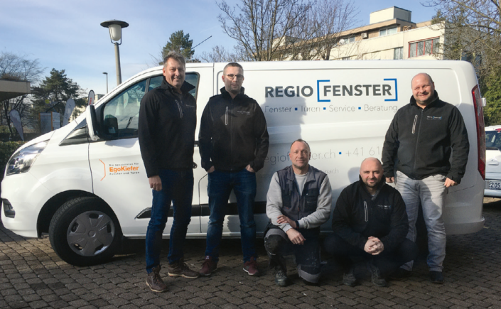 Optimale Kundenbetreuung und Service werden beim Team von Regio Fenster AG grossgeschrieben.