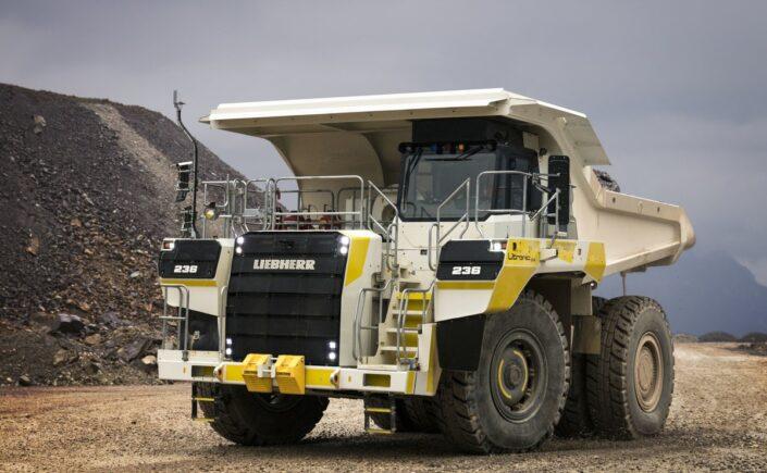 Liebherr Mining-Truck T 236 am Erzberg im Einsatz