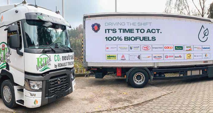 Scania und Renault lassen sich zu 100 Prozent mit Biodiesel aus Frittieröl betreiben.