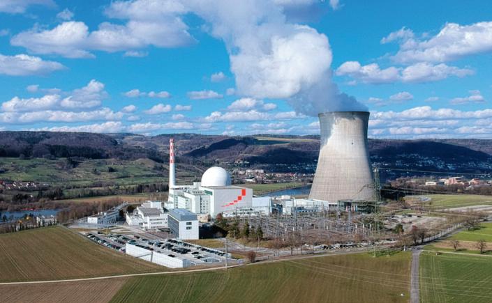 Das Kernkraftwerk Leibstadt hat bisher insgesamt 300 Terawattstunden Strom produziert und kann noch lange eine Stütze unserer Stromversorgung bleiben.