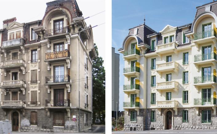 Historisches und denkmalgeschütztes Objekt, im 1906 erbaut und im 2018 saniert – «Route de Berne 7, Lausanne»
