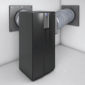 alpha innotec LKS 560: das neue Luftschlauchsystem für innen aufgestellte Luft / Wasser- Wärmepumpen